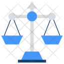 Law Scale Balance Scale Weighing Scale Icon