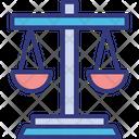 Balance Scale Equality Equalizer Icon