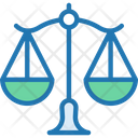 Law Scales Judge Justice Icon