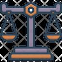 Scale Measuring Balance Icon