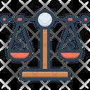 Balance Scale Measuring Icon