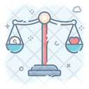 Balance Scale Weighing Measuring Scale Icon