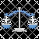 Balance Scale Balance Court Icon