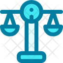 Scale Law Justice Icon