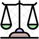 Balance Scale Business Law Justic Icon