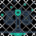 Scales Balance Justice Icon