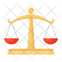 Balance Scale Equity Scale Weight Scale Icon