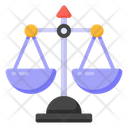 Balance Scale Justice Equality Icon