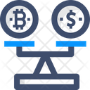 Balance Scale Currency Balance Currency Scale Icon