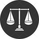 Balance Scale Justice Justice Sign Icon