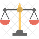 Balance Scale Equity Justice Icon