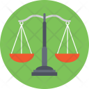 Balance Scale Weighing Icon