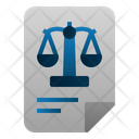 Balance Sheet Accounting Law Icon