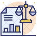 Balance Sheet Financial Statement Financial Statistics Icon