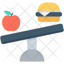 Balanced Diet Apple Icon