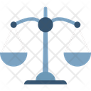 Balanced Scale Court Symbol Law Justice Icon