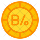 Balboa Coin Currency Icon