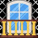 Window Balcony Terrace Icon