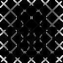 Terrace Door Railing Icon
