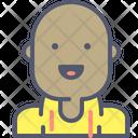 Bald Bald Boy Man Icon