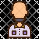 Bald User Avatar Icon