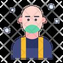 Bald User Hair Icon