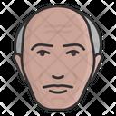 Bald Avatar Male Person Icon