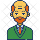 Bald Father Icon