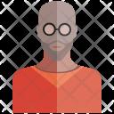 Bald Man Face Icon