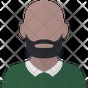 Black Man Avatar Icon