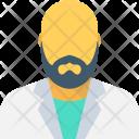 Man Hairless Bald Icon