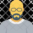 Man Person Bald Icon