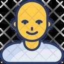 Bald Men Icon