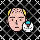 Testosterone Baldness Balding Icon