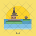 Bali Travel Monument Icon
