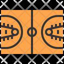 Ball Basketball Field Icon
