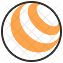 Ball Exercise Fitness Icon