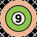 Ball Billiard Snooker Icon