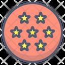 Ball Symbol Stars Icon