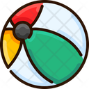 Ball Volley Ball Summer Icon