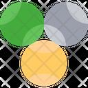 Ball Tennis Ball Volleyball Icon