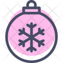 Ball Decoration Christmas Icon