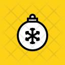 Ball Decoration Christmas Icon