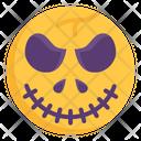Scary Ball Halloween Icon