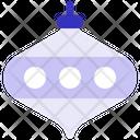 Ball Celebration Christmas Icon