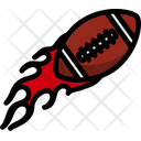 Ball Competition Fire Icon