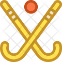 Ball Field Hockey Icon