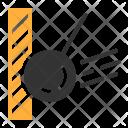 Ball Building Demolition Icon