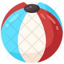 Ball Beach Hobbies And Free Time Icon