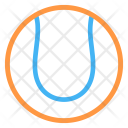 Ball Tennis Game Icon